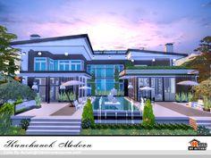 Kanchanok Modern Found in TSR Category 'Sims 4 Residential Lots'