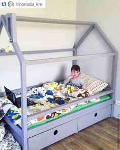 Детская ручной работы. Детская кровать домик Норд. Кроватка ручной работы. Ansem-store. Ярмарка Мастеров. Детская