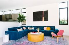 DOMINO:Tour a Technicolor Home That Radiates Good Vibes
