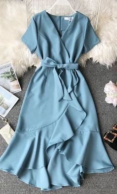 Vintage Dress Elegant Vintage Dress Elegant,F A S H I O N Related Trending Work & Office Outfit Ideas For Women 2019 - The Finest Feed - Work outfits Trending Summer Outfits. Dressy Dresses, Modest Dresses, Cute Dresses, Vintage Dresses, Sexy Dresses, Summer Dresses, Sparkly Dresses, Pink Dresses, Modest Wear