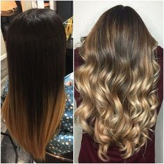 Amazing Before And After By Stylist @hnutts  What Do You Think Of This Transformation?! No Filter Or Editing  Balayaged With Redken  Flashlift 40vol With @olaplex  Bumped Base with 6-12  Toned with 12-19 10-1