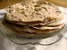 Chapati with coconut milk - East African bread