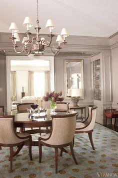 Fifth Avenue apartment designed by Thomas O'Brien.