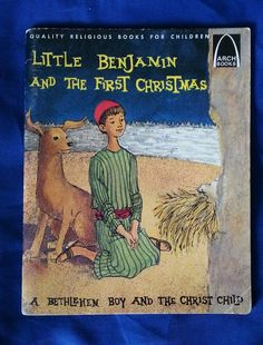 Little Benjamin and the First Christmas, Bethlehem, Vintage 1964 PB Betty Forell in Books | eBay