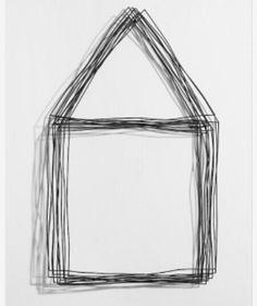 Vacant house-4. Maker: Kim, Byung Jin. Gemaakt in 2009. Dit huis is echt heel erg minimalistisch gemaakt, op de manier hoe een kind een huis zou tekenen. Ik zou het zelf niet echt kunst noemen, omdat het zo makkelijk te maken lijkt. Maar waarschijnlijk zijn de ijzerdraden zo neergelegd dat het niet makkelijk zou zijn om het na te maken. Ik heb deze bewaard omdat het met ijzerdraad gemaakt is en het minimalistische mij wel aansprak.