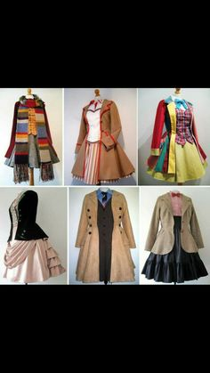 Frockasaurus Etsy store. Her outfits are amazing and ship world wide! #doctorwho #cosplay #femaledoctor #femdoctor