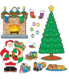 Christmas Scene Bulletin Board Set - Carson Dellosa Publishing Education Supplies