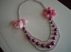 love flowers, handmade jewelry
