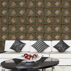 Papel de parede adesivo madeira janela - StickDecor | Decoração Criativa