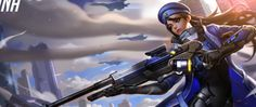 Overwatch Ana Wallpaper Photo ~ Sdeerwallpaper