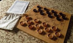 Medieval Game  Draughts by GuineveresGames on Etsy, $45.00