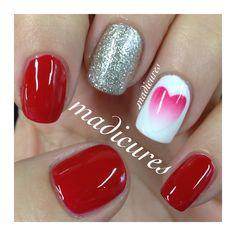 Valentines Nails www.instagram.com/madicures