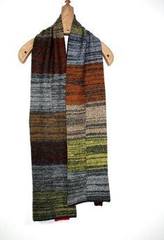 Winter Schal für Männer, Unisex Wollschal, Unikat Knitting Accessories, Unisex, Fur, Beige, Etsy, Knitting Scarves, Fashion, Man Scarf, Moda
