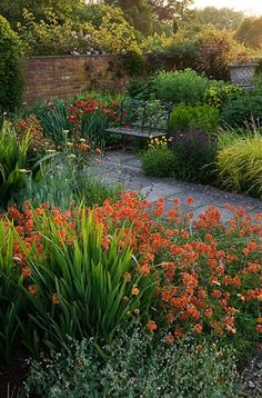 Wollerton Old Hall  A formal plantsman's garden with garden 'rooms' each with their own defining style