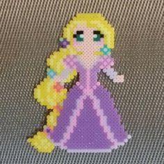 Rapunzel perler beads by dzsisshop