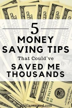5 Money Saving Tips 5 Money Saving Tips That Couldve Saved Me Thousands. If I could go back in time and tell myself anything Id start with these Money Saving Tips. Tips to save money Save Money On Groceries, Ways To Save Money, Money Tips, Money Saving Tips, Money Hacks, Saving Ideas, Earn Money, Financial Literacy, Financial Tips
