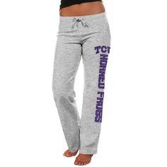 TCU Horned Frogs Women's Frosh Fleece Sweatpants - Ash - $22.99