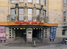 Jugend-arkkitehtuuria - Jugend rakennustyyli arkkitehtoninen arkkitehtuuri rakennustaide sisäänkäynti portaali raput rappuset Helsinki rakennushistoria tyylisuunta