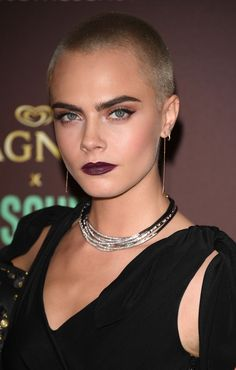 The Celebs Have Spoken: Buzz Cuts Are the Coolest Hair Trend of 2017