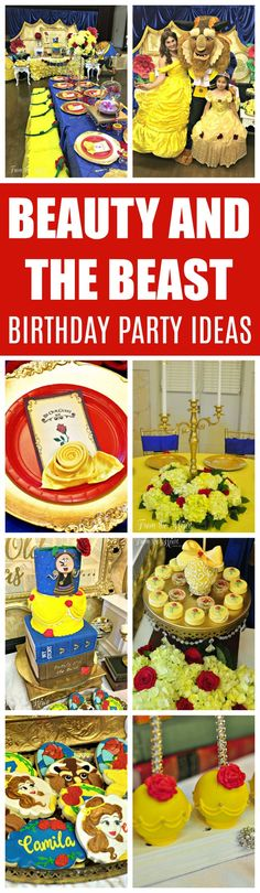 Beauty and the Beast Birthday Celebration birthday beast beauty beautyandth.Beauty and the Beast Birthday Celebration birthday beast beauty beautyand thebeast party celebrationBeauty and the Beast Centerpiece Beauty And Beast Birthday, Beauty And The Beast Party, Disney Beauty And The Beast, Birthday Party Design, Birthday Party Themes, Birthday Invitations, 5th Birthday, Birthday Ideas, Belle Halloween