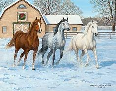 'Paddock Games' by Persis Clayton Weirs Original Paintings