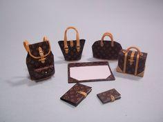 Set with 7 miniatures of Louis Vuitton complete par BetinhaMurta, $70,00