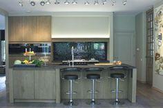 strak landelijke keuken - Keukens  Interieur Degroof Lommel More