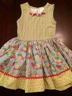 Check out this listing on Kidizen: Platinum Salute Tank Dress Matilda Jane via @kidizen #shopkidizen