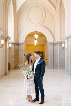 City Hall wedding inspiration