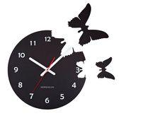 Relógio de borboletas