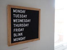 "HIVE'TIQUE - LETTER BOARDS (@hivetique) Small black letter board £25 www.hivetique.com ""Where'd the weekend go?! . #blinkandyoullmissit #mondayagain #whydoweekendsgosofast"""