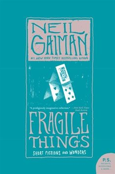 August 2016 Book of the Month: Fragile Things  Book Club is short stories this month, my choice is this collection of short stories by the incomparable Neil Gaiman.