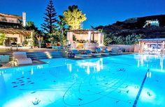 Atmospheric dinner... Unique Surroundings! #IosIsland #hotel #visitGreece #holidays2017 #restaurant #pool #sunset #agalia #Greek Islands