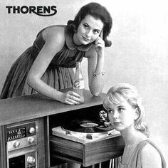 Thorens vintage ad