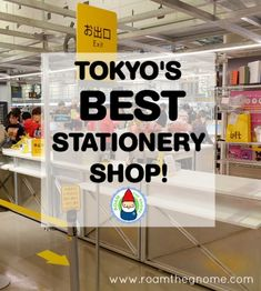 Loft Shibya - Don't Miss This Amazing Japanese Stationery Store - Visit ROAM THE GNOME Family Travel Directory for MORE SUPER DOOPER FUN ideas for family-friendly travel around the world. Search by City.