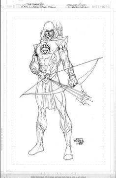 White Lantern Green Arrow