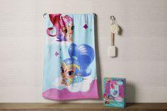 Shimmer Shine Bath Towel Shimmer N Shine, Bath Towels, Shower, Bathroom, Prints, Kids, Rain Shower Heads, Washroom, Young Children