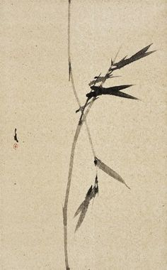 Shan Fan, The Bamboo 01; Ink on Paper, 78x48cm, 2013