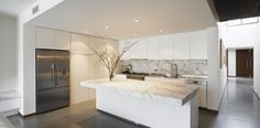 Marble Kitchen Innovation - Architectural Design Ideas And Modern Luxury Resort Home Design, Design Ideas, Open Kitchen Interior, Ideas Geniales, Modern Kitchen Design, Kitchen Designs, Kitchen Furniture, Decoration, Cool Kitchens