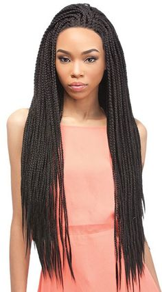 Outre Lace Front X-Pression BOX BRAID SMALL (Braided Wig)