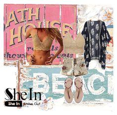 """Sexy in SheIn Kimono :)"" by mfernandez-i on Polyvore"