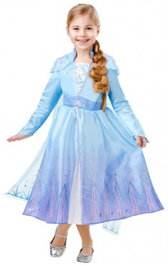 Frozen 2 Elsa Costume Ages, 6 - Dress up as Elsa the Snow Queen form Disney's Frozen. Ideal for any costume party, or just for fun; this Elsa Costume is perfect for any little girl. Elsa Outfit, Elsa Dress, Dress Up, Fancy Dress Costumes Kids, Girl Costumes, Reine Elsa, Disney Princess Frozen, Organza, Travel Dress