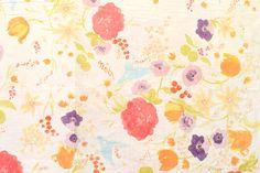 Nani Iro Kokka Japanese Fuccra tissu : rakuen par MissMatatabi