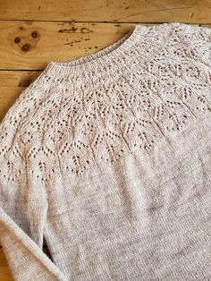 Lotus, Top Down, Ravelry, Circular Needles, Knit Sweaters, Cardigans, Knit Crochet, Knitting, Pullover