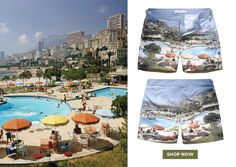 OB5 Competition - MONTE CARLO BEACH CLUB - Slim Aarons