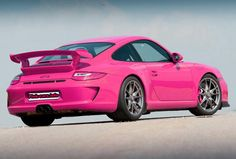 Porsche Pink | rear photo of pink 2010 porsche 911 gt3 more pink