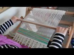 Tote bag weave along - weaving part 1 - YouTube