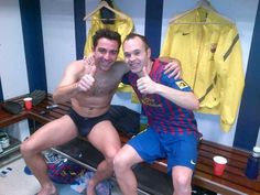 I swear, Iniesta is always uploading pics where someone is in their underwear. Usually it's himself in his tighty-whities! Xavi is looking good eh? Xavi Hernandez, Xavi Iniesta, Fc Barcelona, Disappointment, Rugby, Eye Candy, Underwear, Polo Ralph Lauren, Tumblr