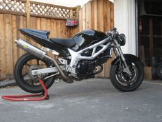 Sv 650 project I like