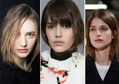 Fall/ Winter 2015-2016 Hairstyle Trends: Hair Tucked Into The Clothes